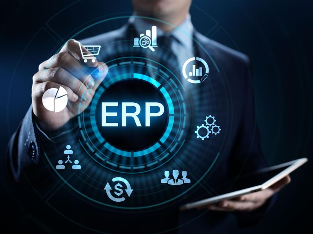Die verschiedenen Bereiche eines ERP Systems sind vollständig integriert und greifen ineinander